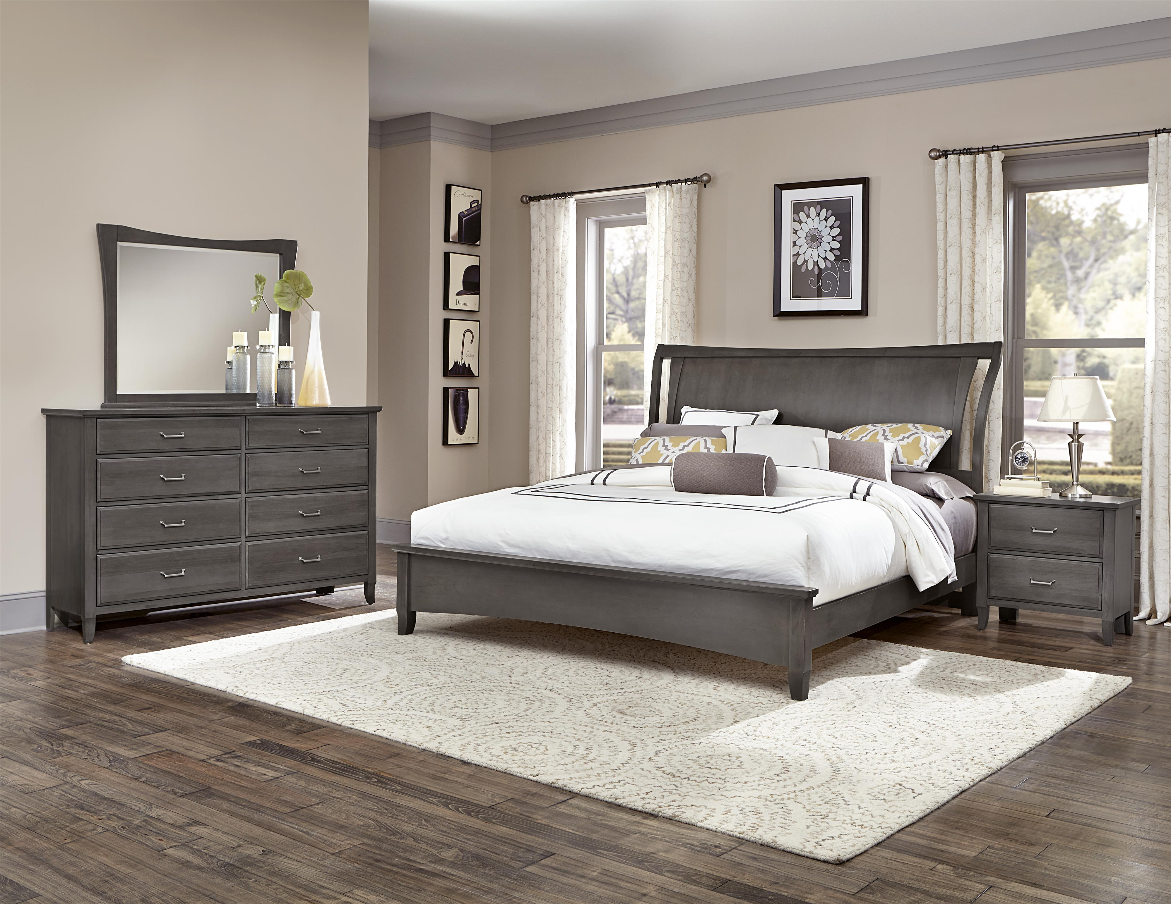 Vaughan Bassett Commentary Full Bedroom Group - Item Number: 394 F Bedroom Group 1