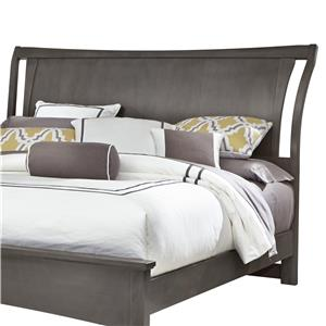 Vaughan Bassett Commentary King Wing Headboard
