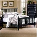 Vaughan Bassett Cottage Full Slat Poster Bed - Item Number: BB16-556+655+911