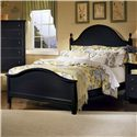 Vaughan Bassett Cottage Queen Panel Bed - Item Number: BB16-558+855+922