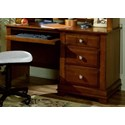 Vaughan Bassett Cottage Computer Desk - 3 Drawers, Pull Out Tray - Item Number: BB19+778