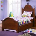 Vaughan Bassett Cottage Twin Panel Bed with Trundle - Item Number: BB19-338+833+900+822A+B