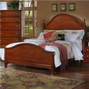 Vaughan Bassett Cottage Queen Panel Bed