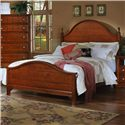 Vaughan Bassett Cottage California King Panel Bed - Item Number: BB19-668+866+944