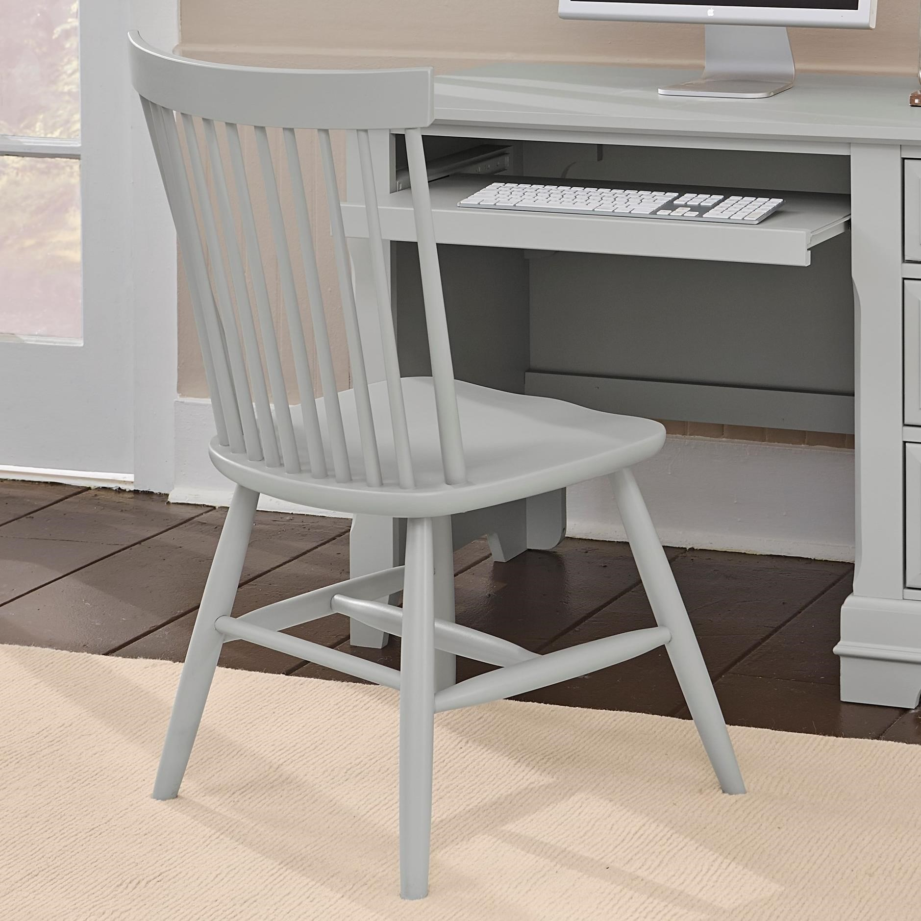 Brilliant Cottage Desk Chair By Vaughan Bassett At Value City Furniture Home Interior And Landscaping Fragforummapetitesourisinfo