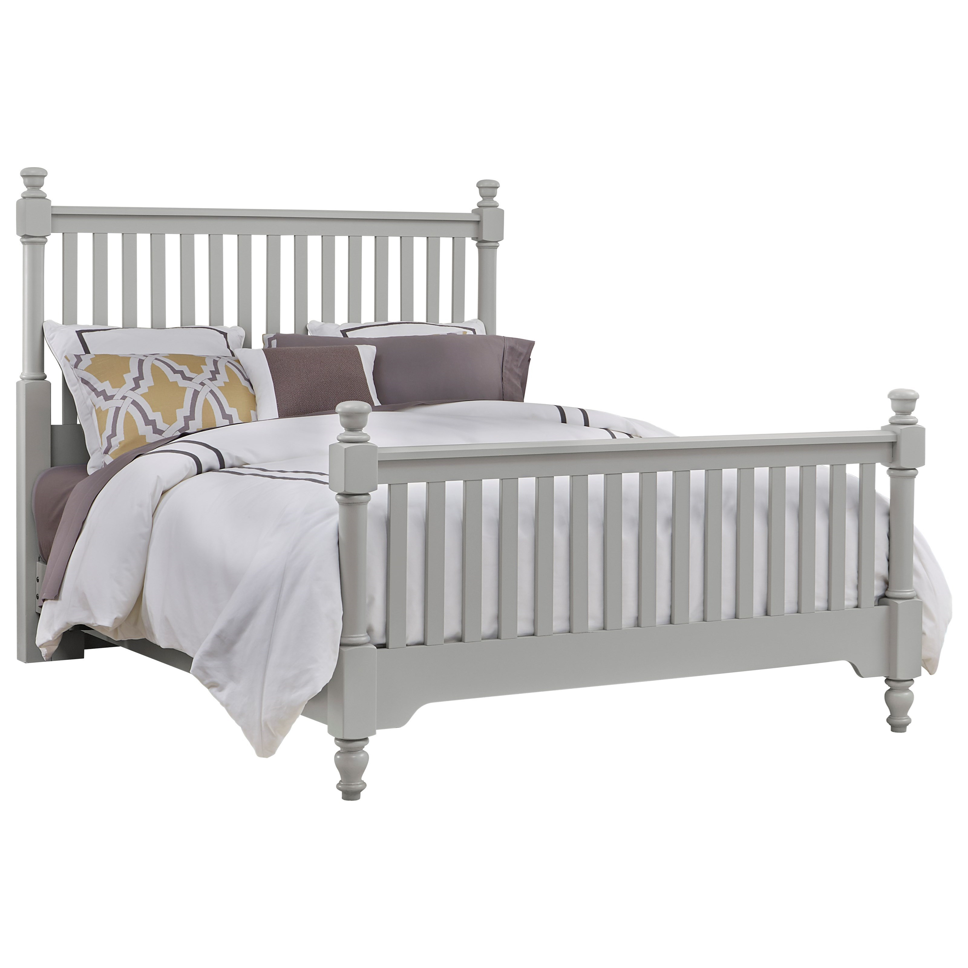 Full Slat Poster Bed