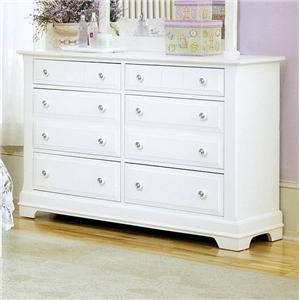 Vaughan Bassett Cottage Double Dresser