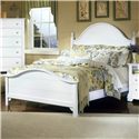 Vaughan Bassett Cottage Queen Panel Bed - Item Number: BB24-558+855+922