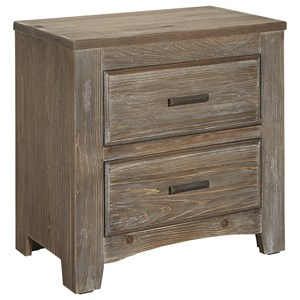 Vaughan Bassett Cottage Too Night Stand 2 Drawers