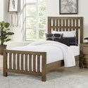 Vaughan Bassett Cottage Too Twin Panel Bed - Item Number: 72-338+900+833