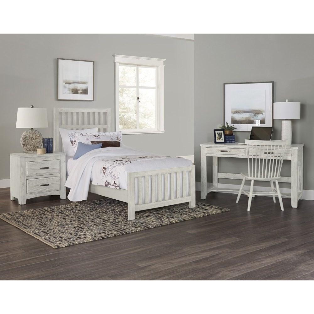 Vaughan Bassett Bedroom Set: Vaughan Bassett Cottage Too Twin Bedroom Group