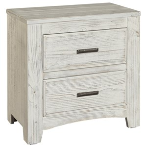 Night Stand 2 Drawers