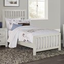 Vaughan Bassett Cottage Too Twin Panel Bed - Item Number: 74-338+900+833