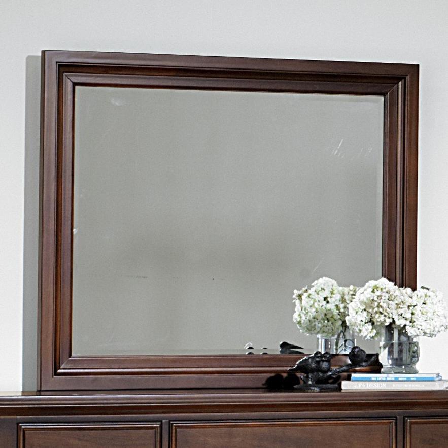 Vaughan Bassett Ellington Landscape Mirror - Bevel Glass - Item Number: 622-446