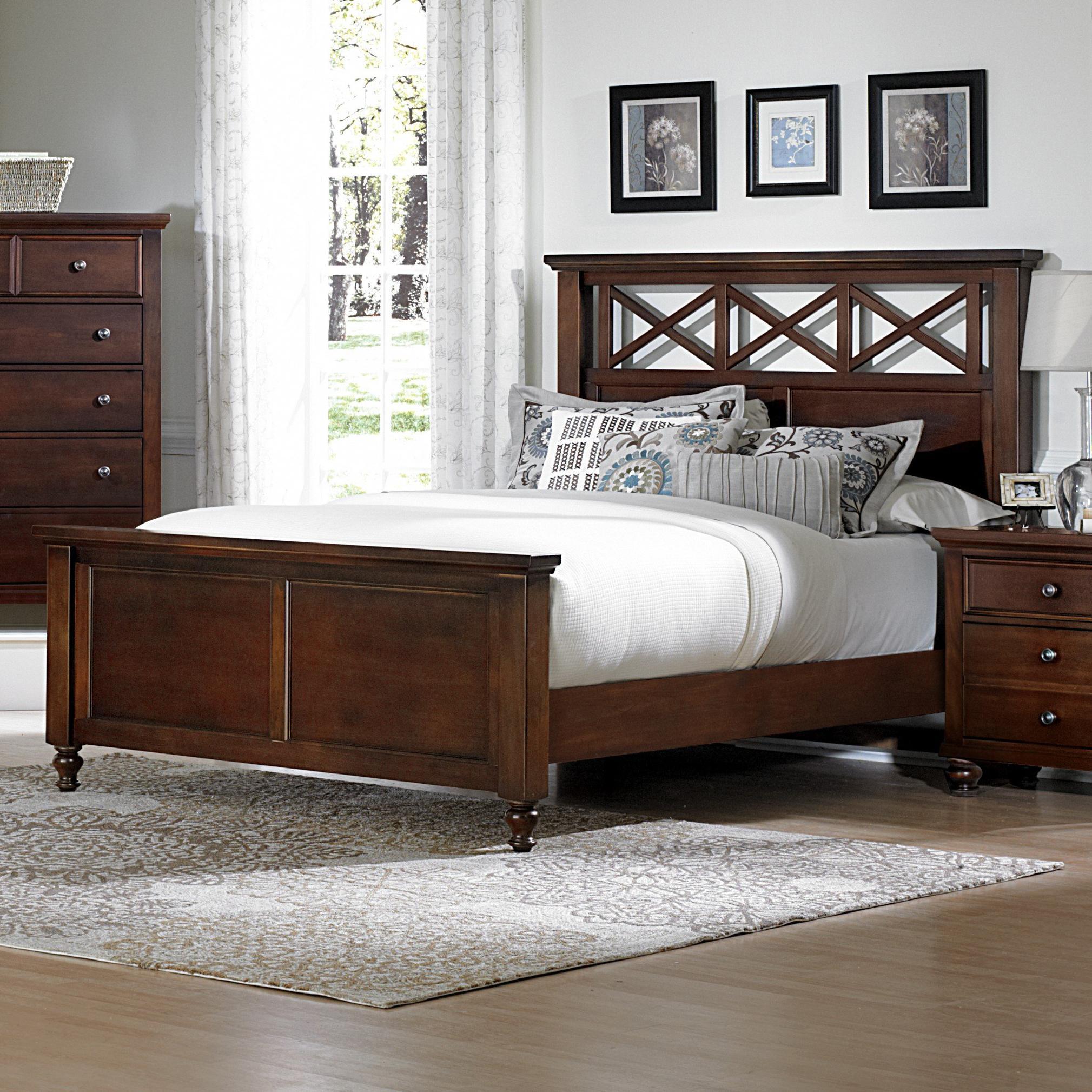 Vaughan Bassett Ellington Full Garden Bed - Item Number: 622-558+855+911