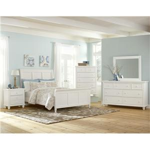 Vaughan Bassett Ellington Queen Bedroom Group