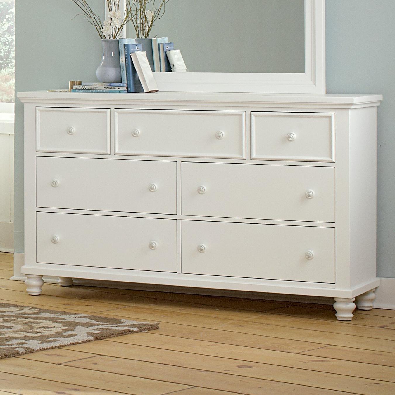 Vaughan Bassett Ellington Triple Dresser - 7 Drawers - Item Number: 624-002