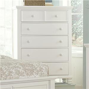 Vaughan Bassett Ellington Chest - 5 Drawers