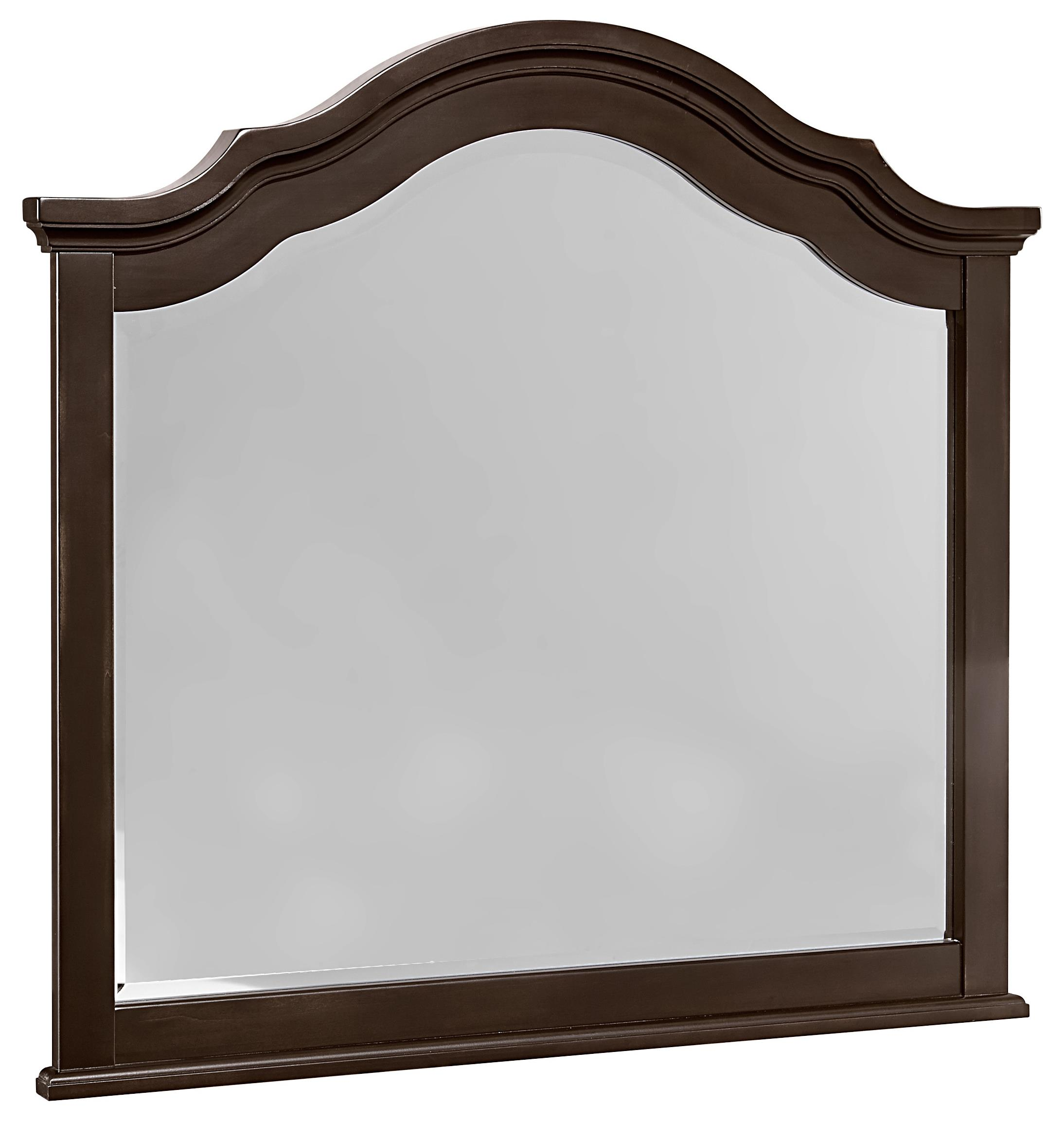 Vaughan Bassett French Market Arched Mirror - Item Number: 380-447