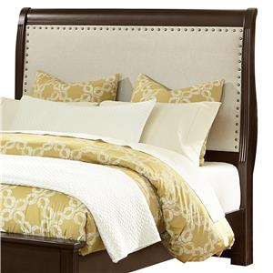 Queen Upholstered Headboard (Linen)