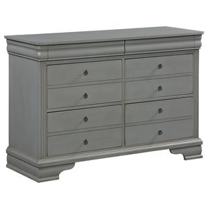 Vaughan Bassett French Market Youth Dresser - 6 Drawers