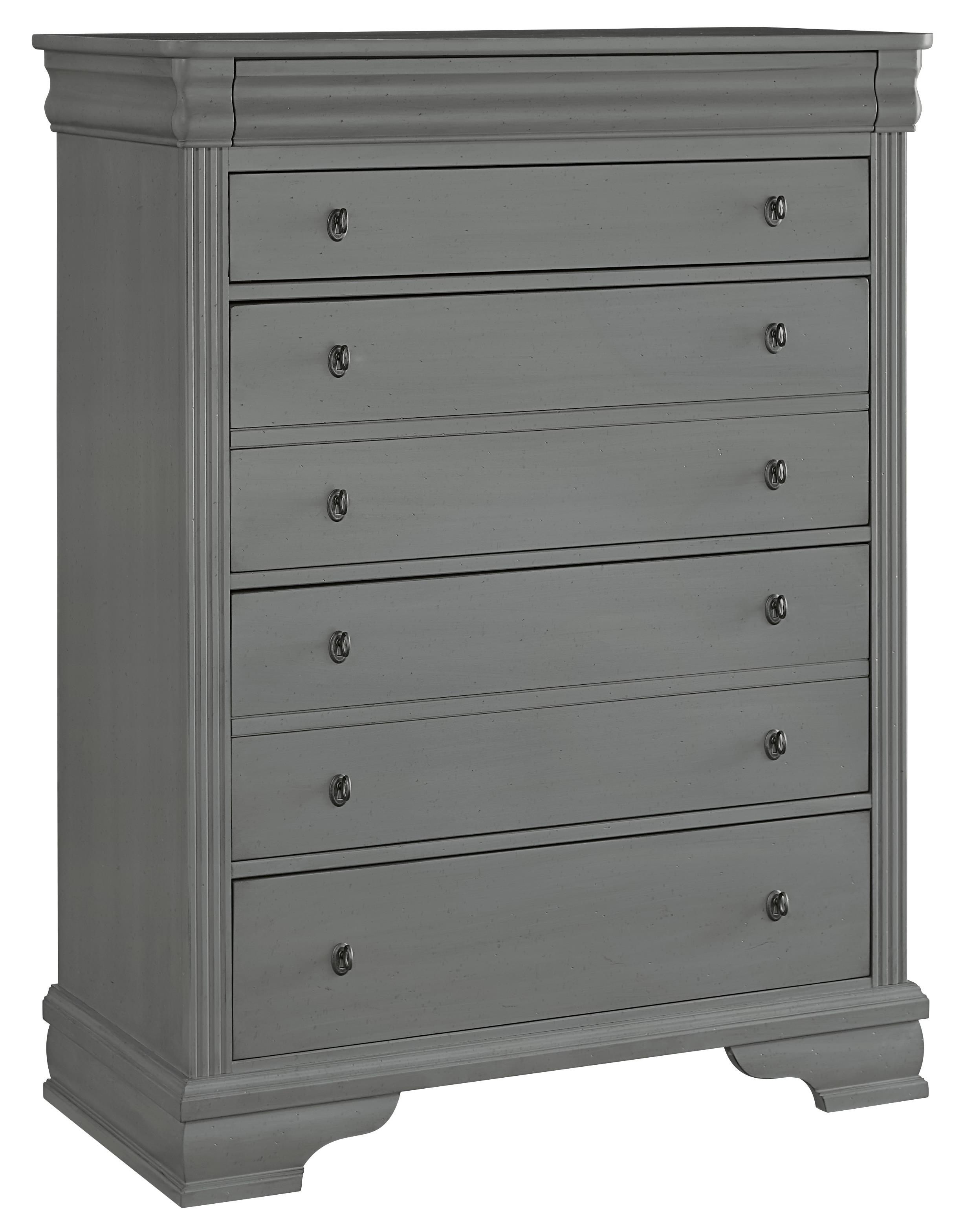 Vaughan Bassett French Market Storage Chest - 5 Drawers - Item Number: 381-115