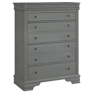 Vaughan Bassett French Market Storage Chest - 5 Drawers