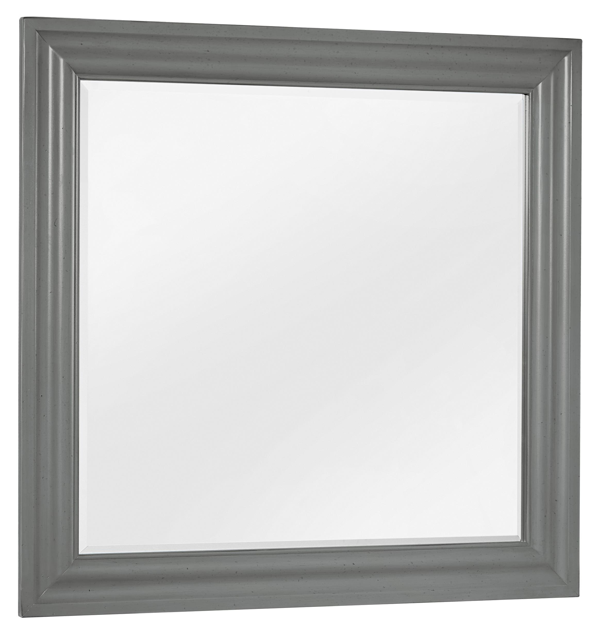 Vaughan Bassett French Market Landscape Mirror - Item Number: 381-446