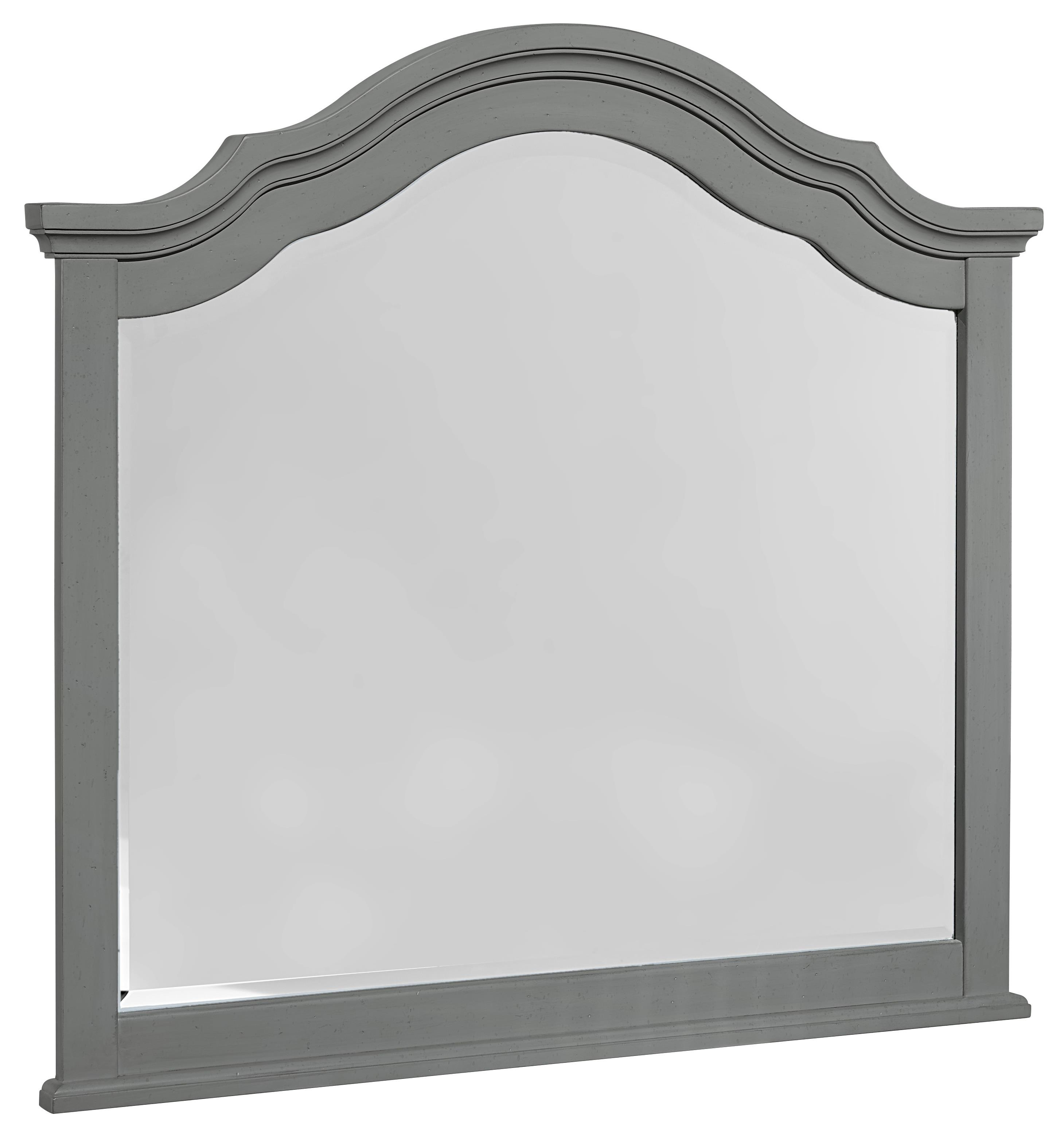 Vaughan Bassett French Market Arched Mirror - Item Number: 381-447