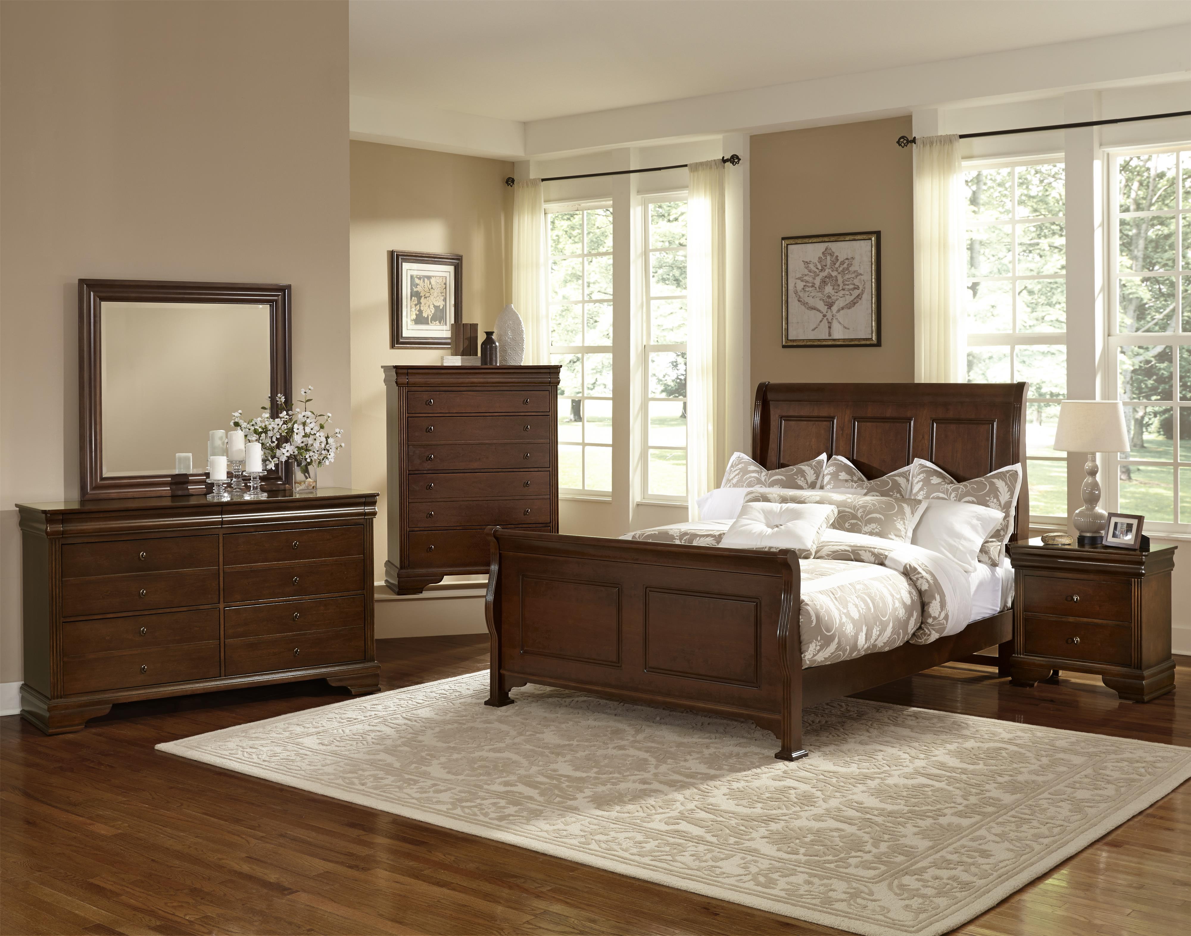 Vaughan Bassett French Market Full Bedroom Group - Item Number: 382 F Bedroom Group 2