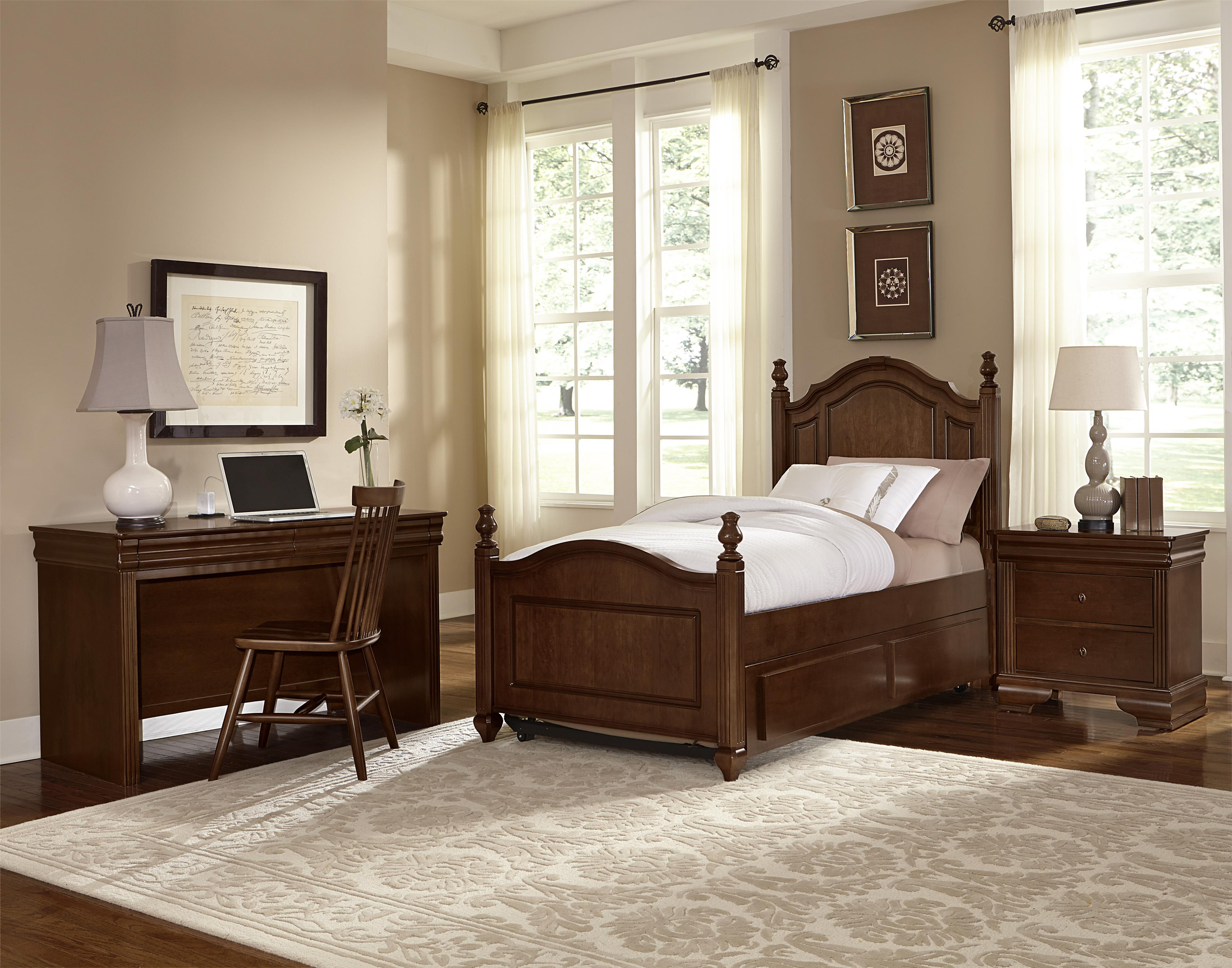 Vaughan Bassett French Market Twin Bedroom Group - Item Number: 382 T Bedroom Group 2