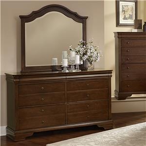 Dresser & Arched Mirror