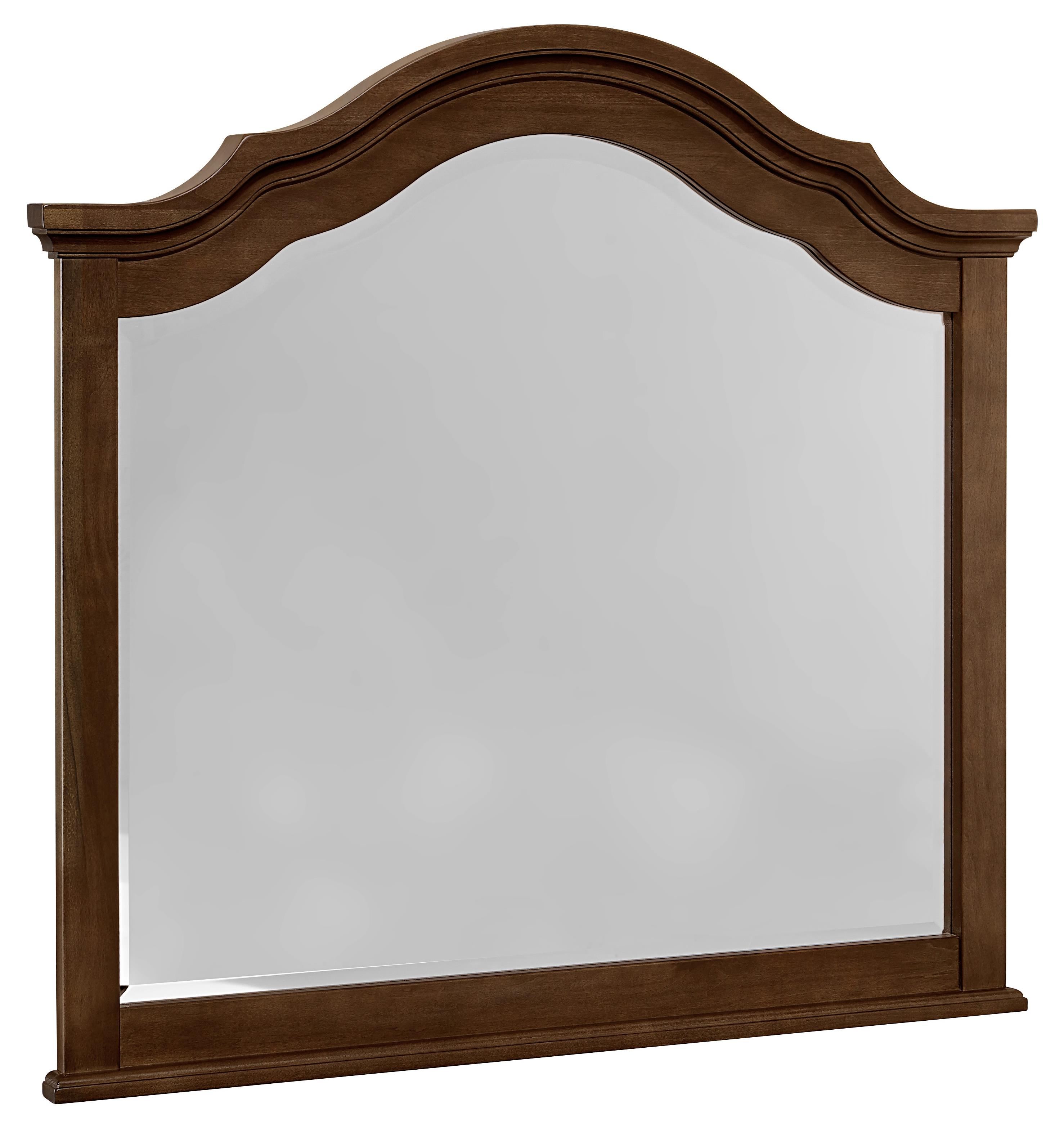 Vaughan Bassett French Market Arched Mirror - Item Number: 382-447