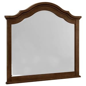 Vaughan Bassett French Market Arched Mirror