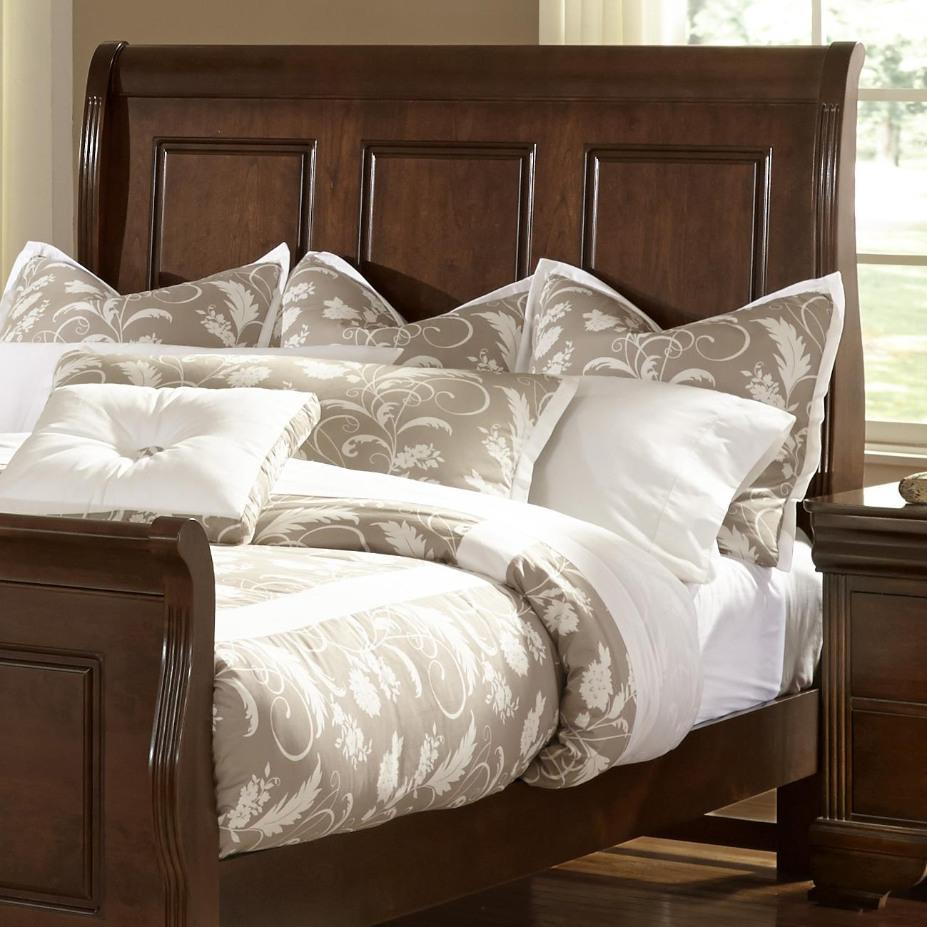 Vaughan Bassett French Market Queen Sleigh Headboard - Item Number: 382-551