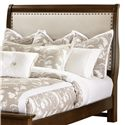 Vaughan Bassett French Market Full Upholstered Headboard (Linen) - Item Number: 382-333