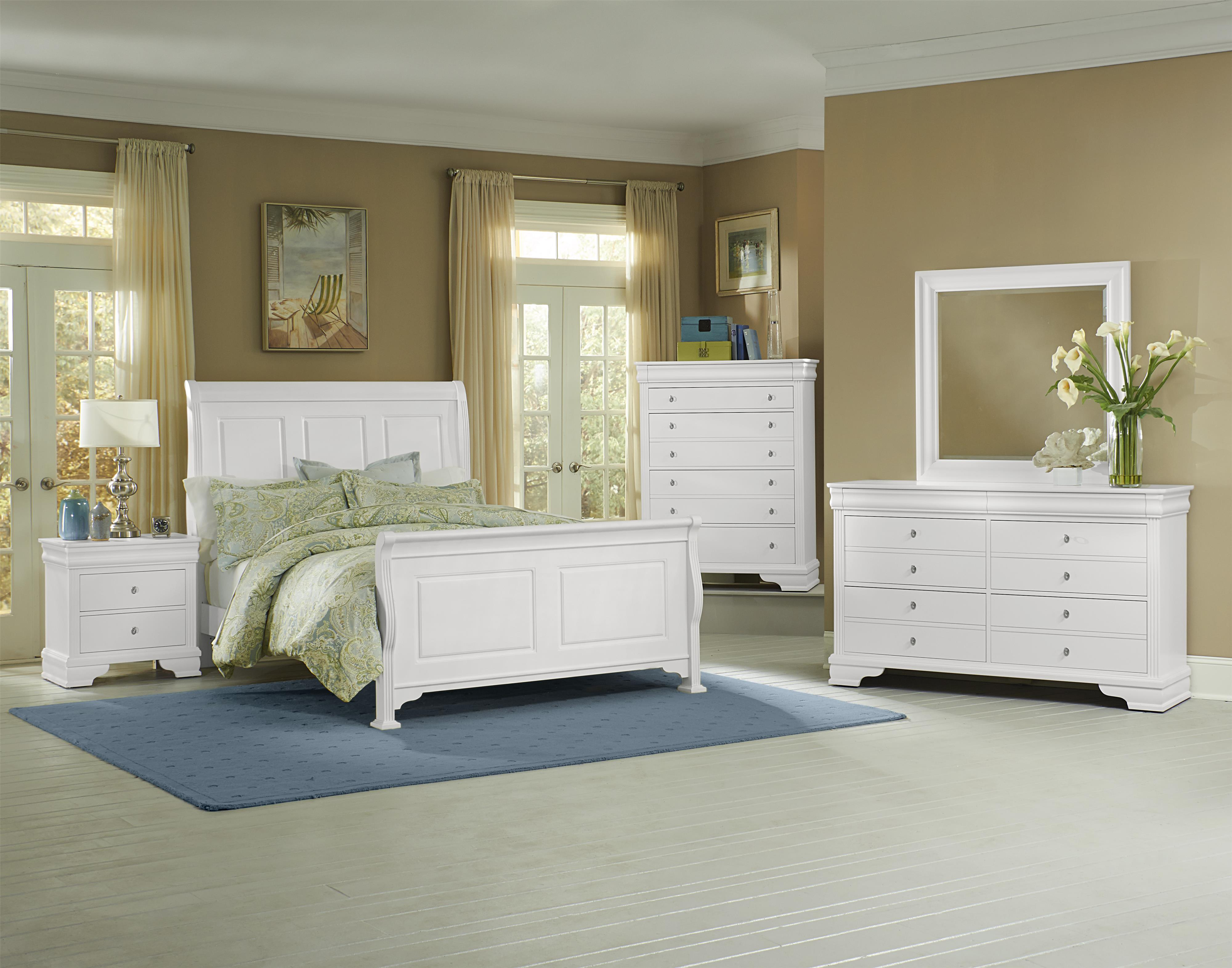 Vaughan Bassett French Market King Bedroom Group - Item Number: 384 K Bedroom Group 2