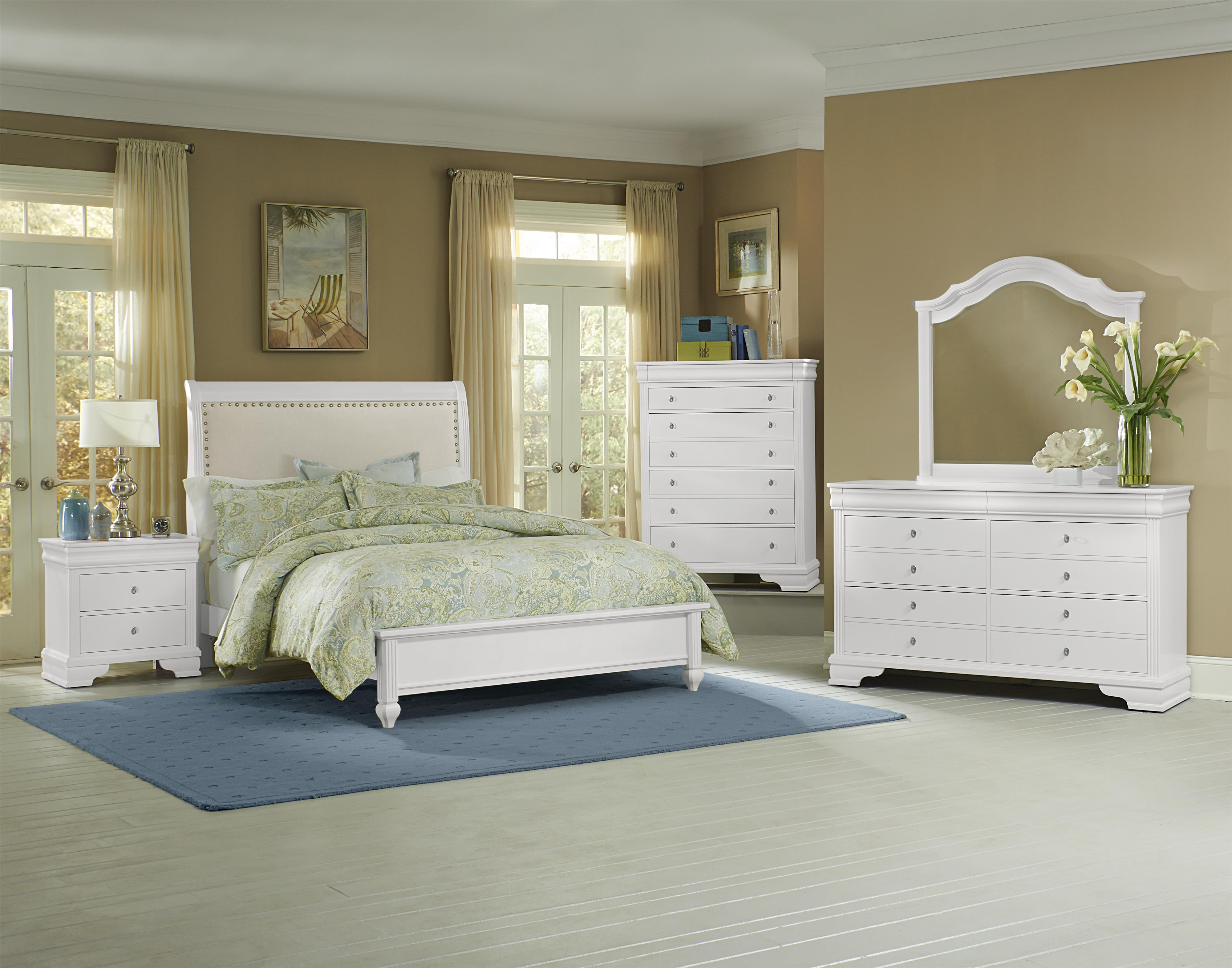 Vaughan Bassett French Market Queen Bedroom Group - Item Number: 384 Q Bedroom Group 3