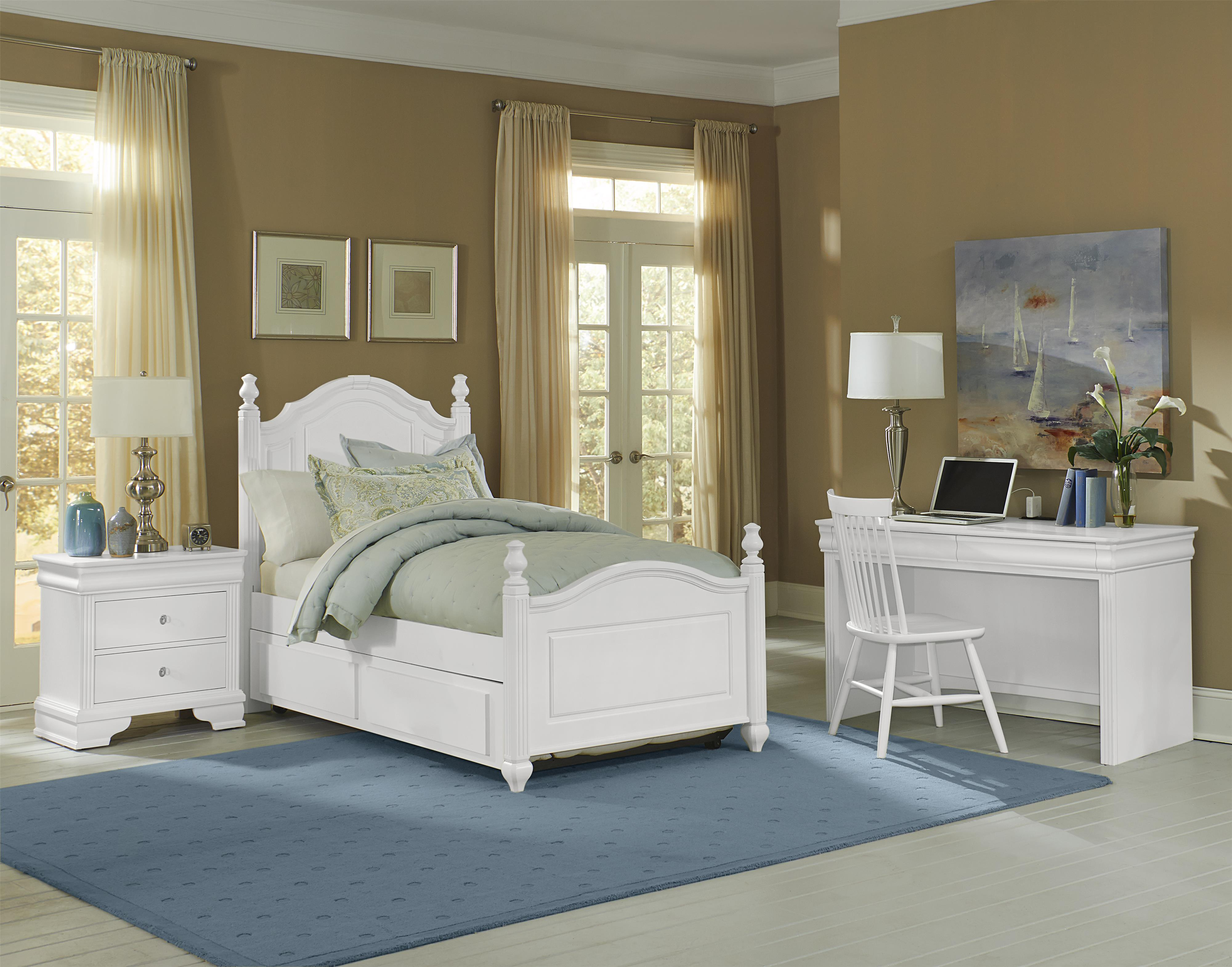 Vaughan Bassett French Market Twin Bedroom Group - Item Number: 384 T Bedroom Group 2