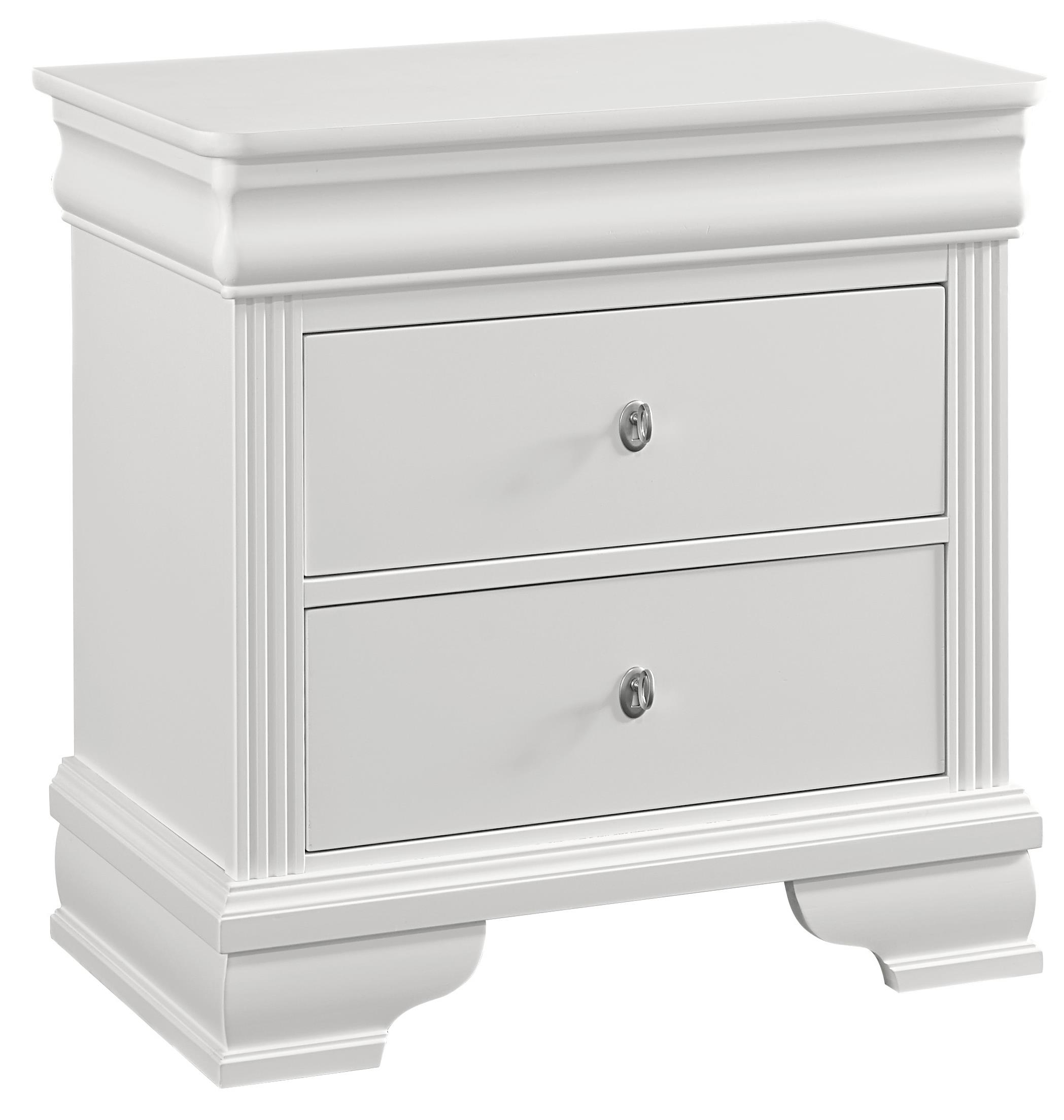 Vaughan Bassett French Market Night Stand - 2 Drawers - Item Number: 384-226