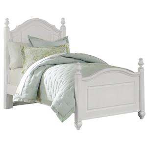 Vaughan Bassett French Market Twin Poster Bed