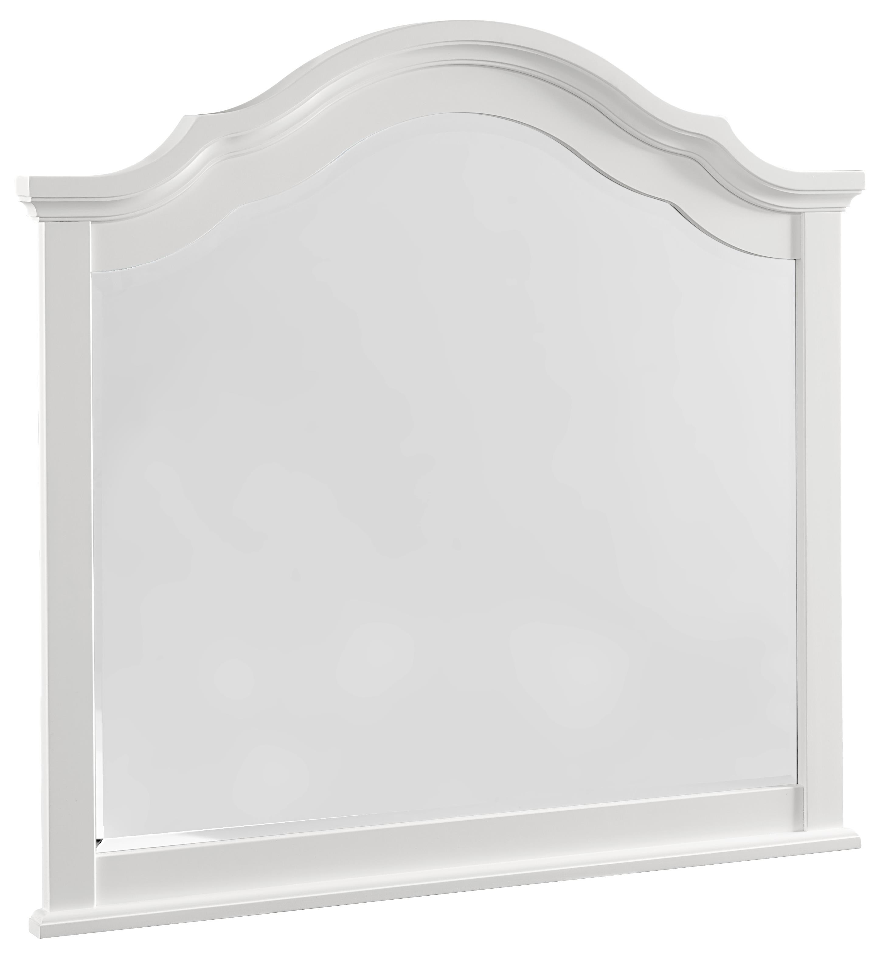 Vaughan Bassett French Market Arched Mirror - Item Number: 384-447