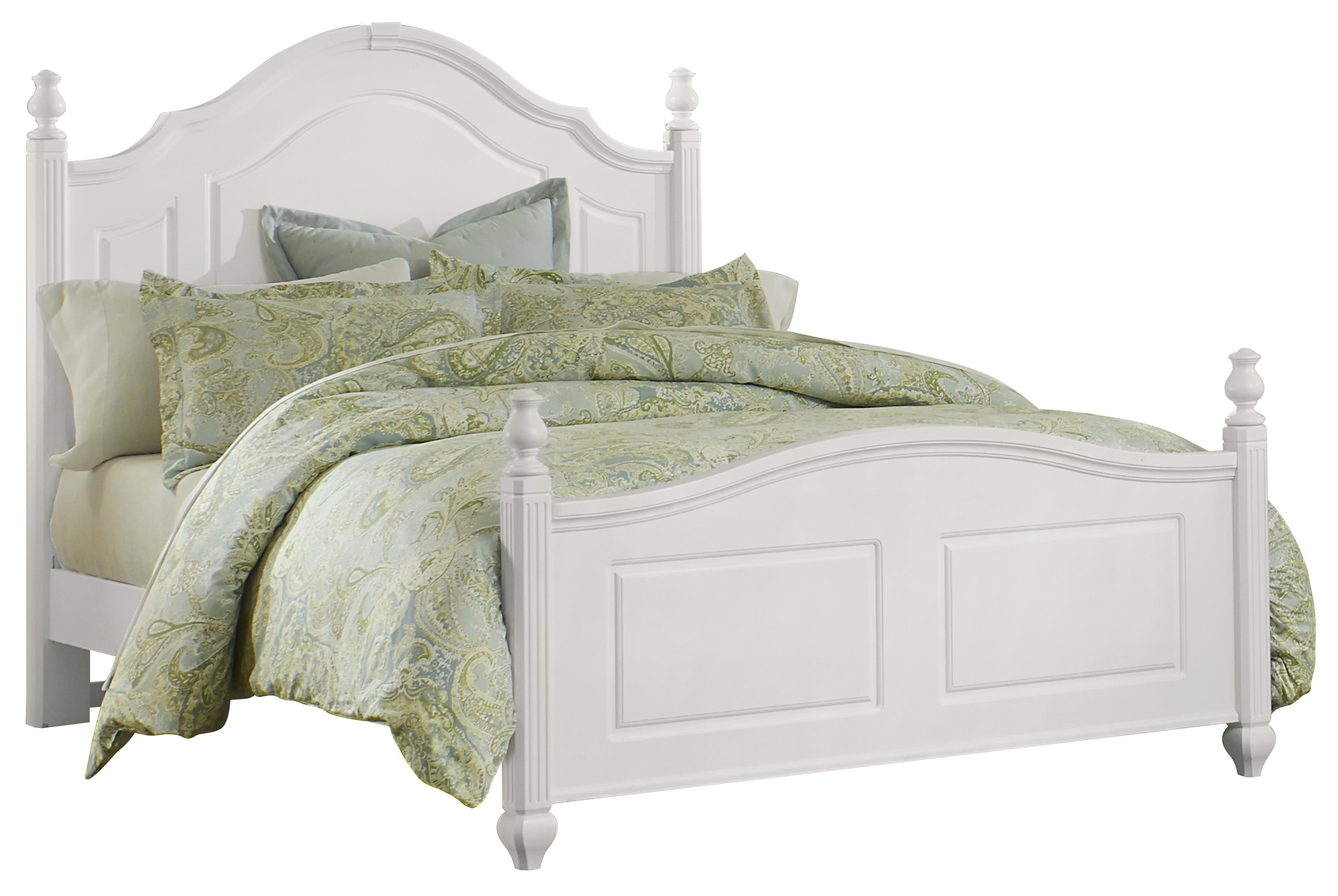 Vaughan Bassett French Market Queen Poster Bed - Item Number: 384-558+855+922