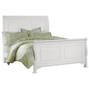 Vaughan Bassett French Market Queen Sleigh Bed