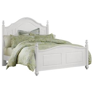 Vaughan Bassett French Market Queen Poster Bed