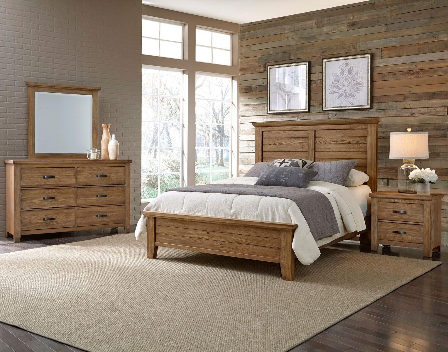 Vaughan Bassett Cassell Park Queen Bedroom Group - Item Number: 514 Q Bedroom Group 1