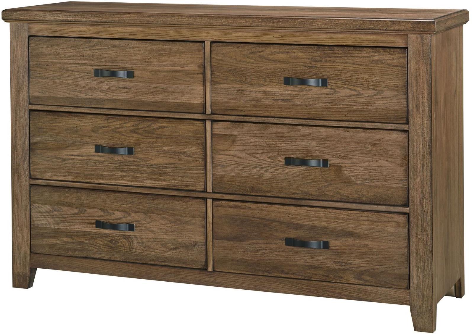 Vaughan Bassett Cassell Park Storage Dresser-6 Drawer - Item Number: 514-002