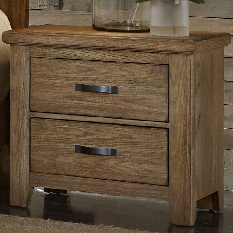 Vaughan Bassett Cassell Park Night Stand - 2 Drawers  - Item Number: 514-226