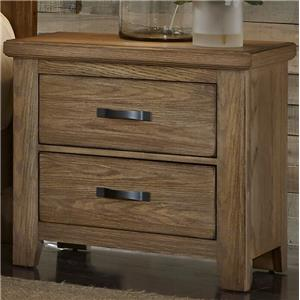 Vaughan Bassett Cassell Park Night Stand - 2 Drawers