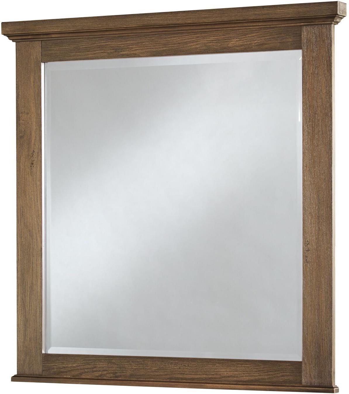 Vaughan Bassett Cassell Park Landscape Mirror - Item Number: 514-446